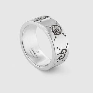 GucciGhost skull ring